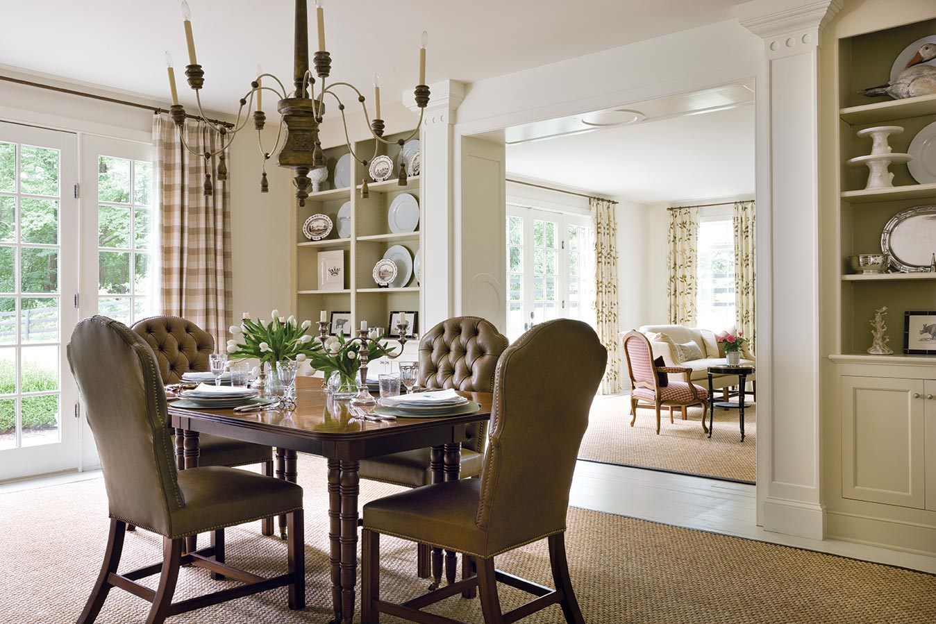 Pamela ryder creates a horse country haven southern home for European homes and style magazine