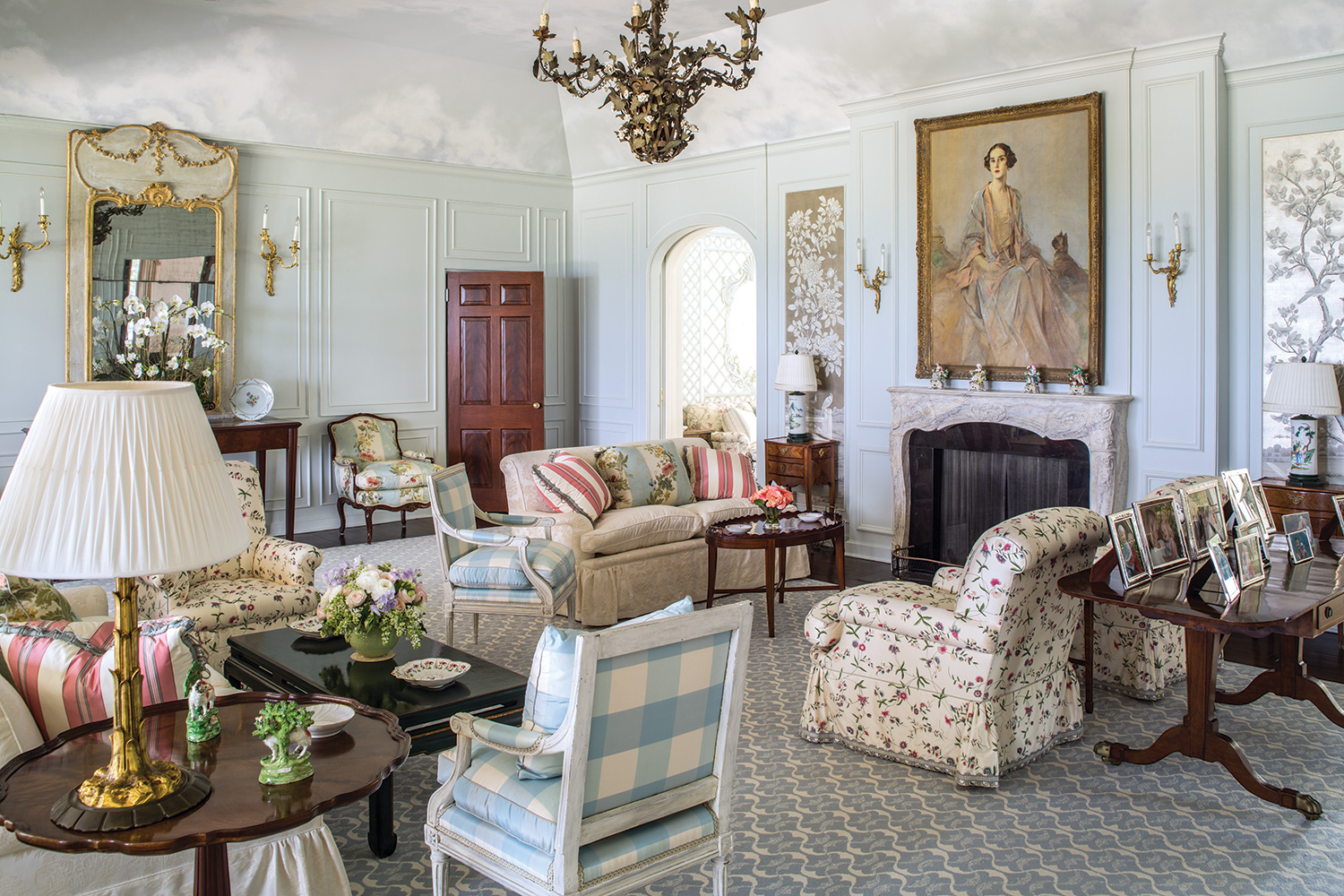 French Designs And Southern Comforts Southern Home Magazine