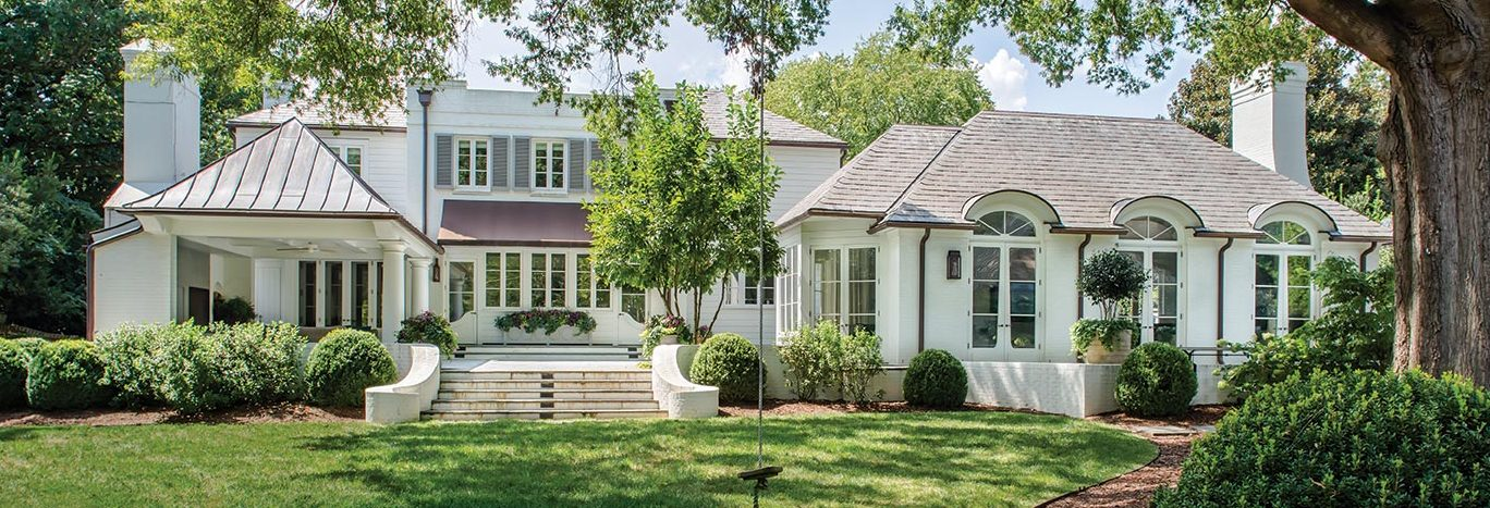 Before after a serene family friendly charlotte for Front of house magazine