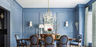 Dining Room KEvin Walsh redesign Little Rock Family home Classical and Contemporary