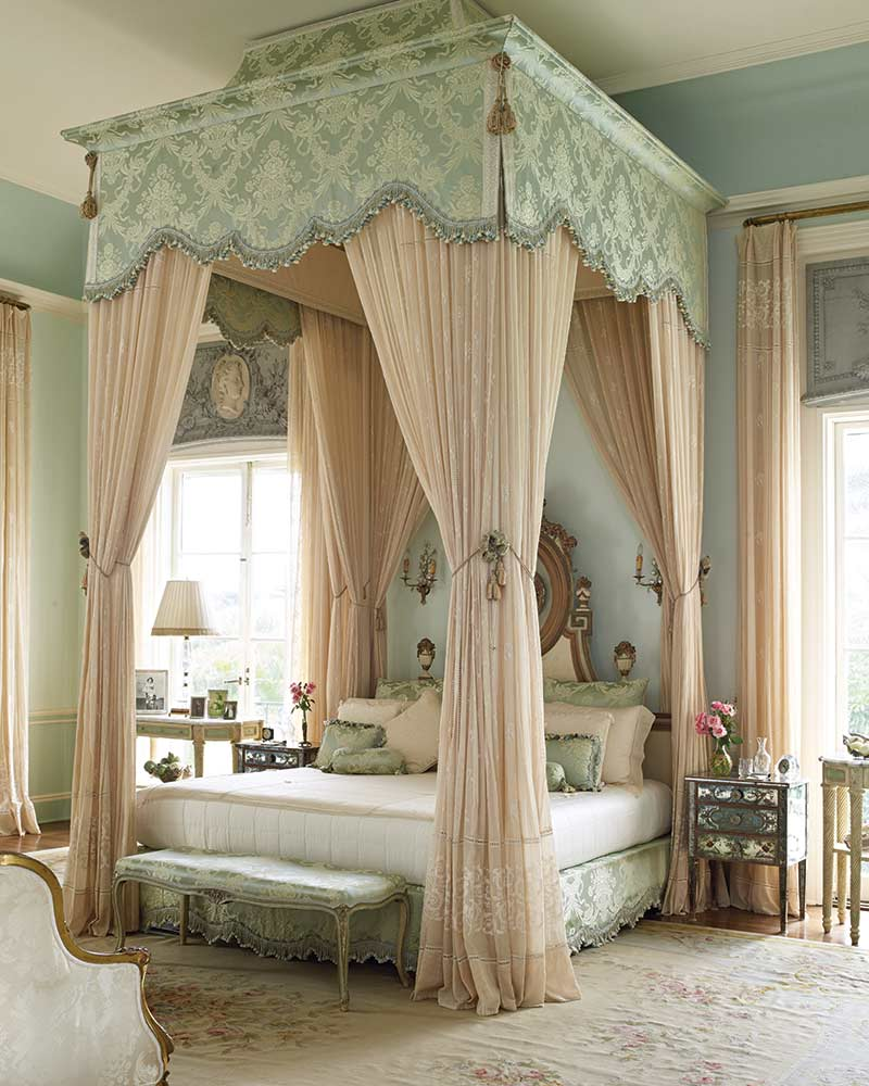 French-style master bedroom
