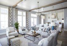 galveston bay home living area