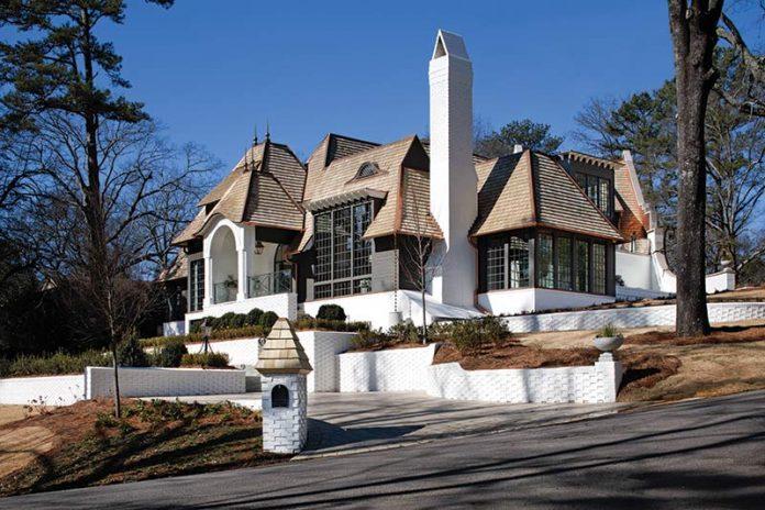 show home in Mountain Brooke, Alabama