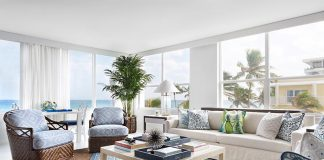 Palm Beach living room
