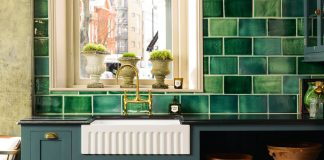 deVOL - Emerald Green London Tile