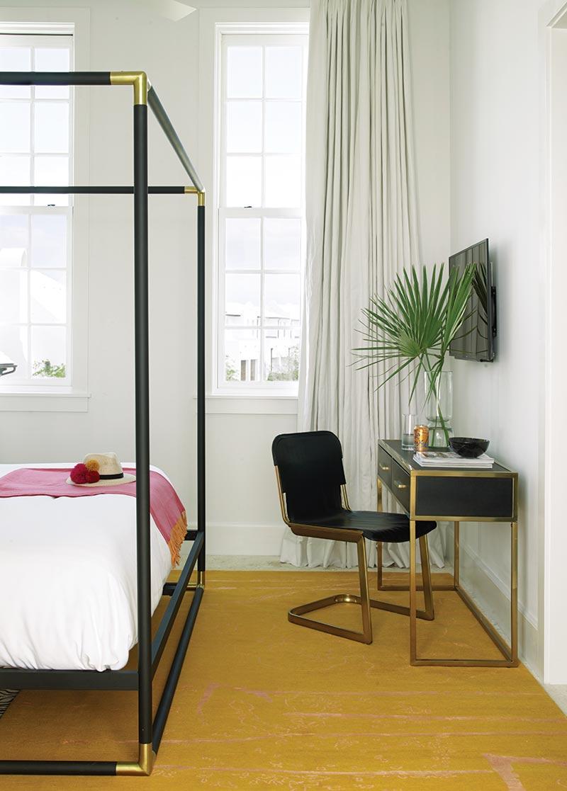 Alys Beach guest house bedroom