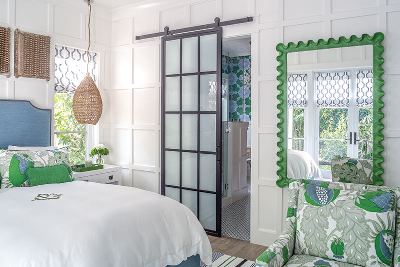 Key West vacation home master bedroom