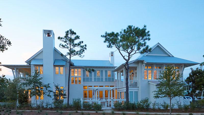 beach home exterior