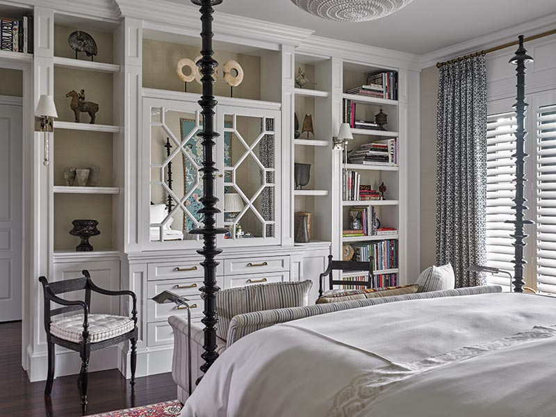 custom built-ins in master suite