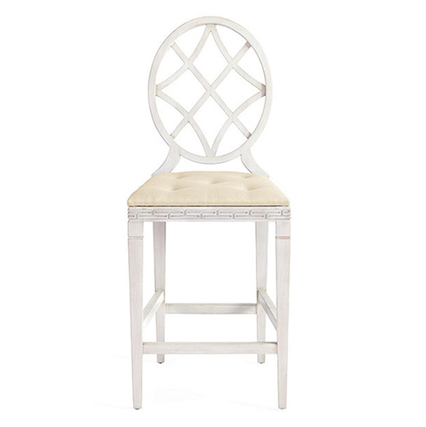 Ballard Designs: Miles Redd Diamond Counter Stool