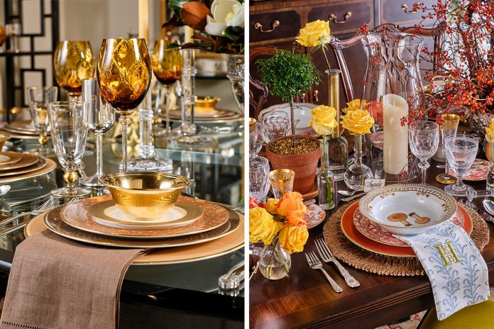 Replacements: 3 Elegant Harvest Table Settings