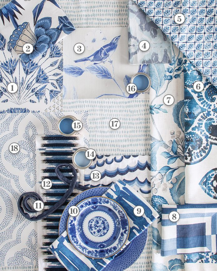 Color Crush: China Blue